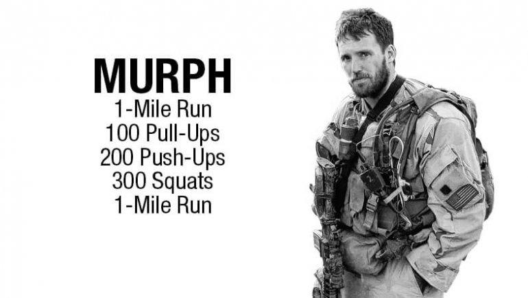 """Hero-WOD """"MURPH"""""""