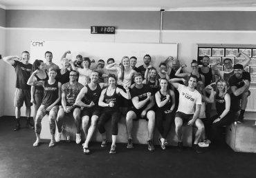 METCOMP 19.2 bei CrossFit Musketeers in Halle